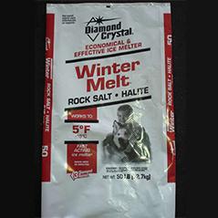 De-Icing Rock Salt