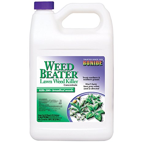 weed beater lawn weed killer bottle