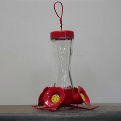 Hummingbird Feeder- 8 oz. (203-CP)