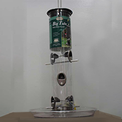 Big Tube Feeder with tray - Aspects 081