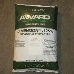 Crabgrass Preventer with fertilizer
