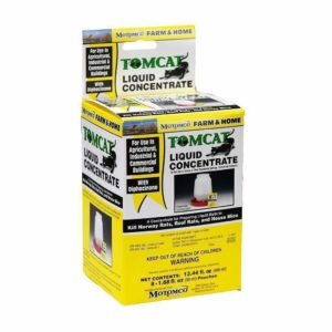 Tomcat Liquid concentrate in yellow packaging. 13.44 fl. oz.