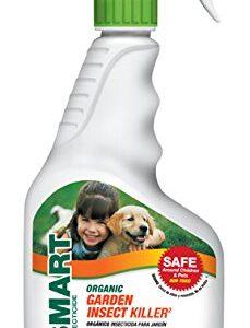 eco smart garden insect killer in white trigger sprayer bottle