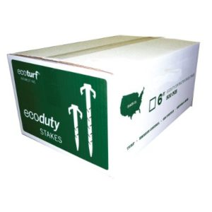 white and green box for bio stakes