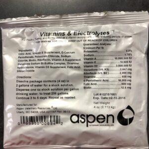 Vitamins and Electrolytes pak