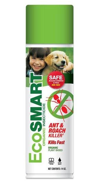 eco smart organic ant roach killer in bottle